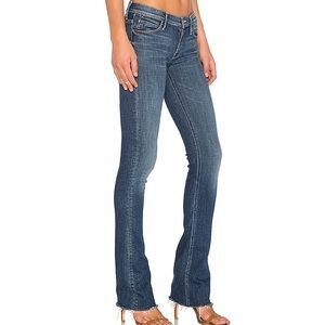 MOTHER The Runway Fray Jeans in Girl Crush